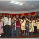 rafiki orphans reciting together